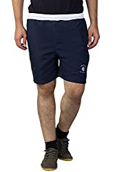 Greenwich United Polo Club Men's Polyester Shorts (GUPC1_Blue_XX-Large)