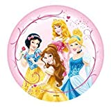 DISNEY PRINCESS CAKE TOPPER 21 CM EDIBLE WAFER / RICE IV. PAPER CUP CAKE DECORATION TOPPERS BIRTHDAY PARTY KIDS WEDDING