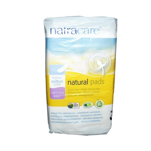 wholesale-natracare-natural-night-time-pads-10-pack-bathroom-feminine-care-by-starsun-depot
