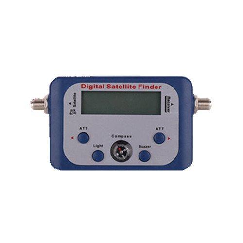 Generic Digital Satellite Finder Meter With Lcd Display Tv Signal Finder Color Grey