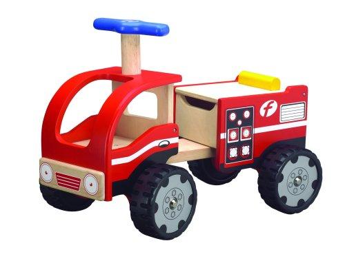 Wonderworld Ride-On, Fire Engine front-1052568