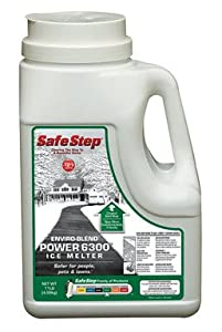 Safe Step Ice Melter Jug Melts Ice Down To - 10 F /- 23 C 11 Lbs.