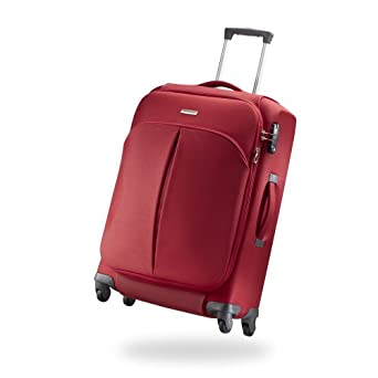 Samsonite Luggage Cordoba Duo Spinner Suitcase, Red, 25-Inch