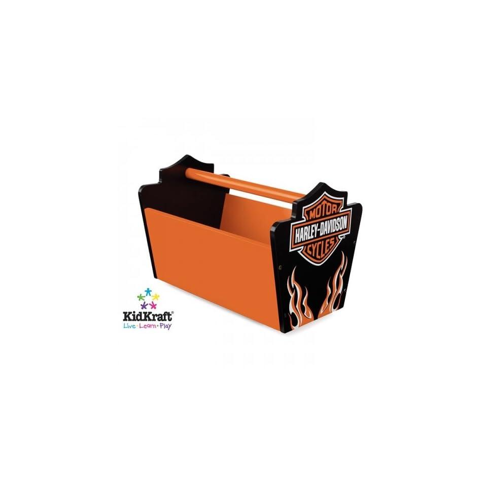 Harley Davidson Flames Toy Caddy