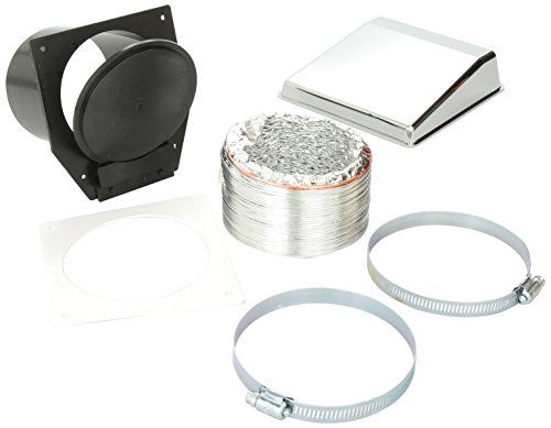 Westland VID403AC Sales Deluxe Dryer Vent Kit With Chrome Vent Cover (Rv Dryer Vent Cover compare prices)