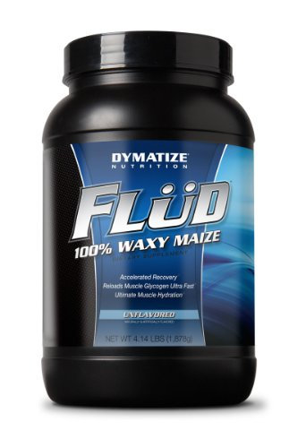 Dymatize Flud Unflavored 4.14lb Waxy Maize Post Workout