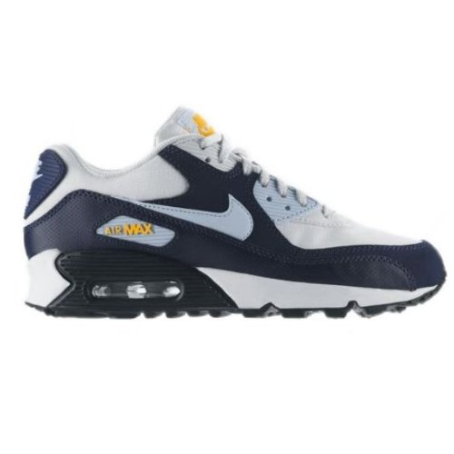 Nike Kids Air Max 90  Blue Orange 307793-153 5y