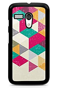 Geekcases Retro Diamond Back Case for Motorola Moto G