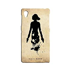 BLUEDIO Designer 3D Printed Back case cover for Sony Xperia Z1 - G2285
