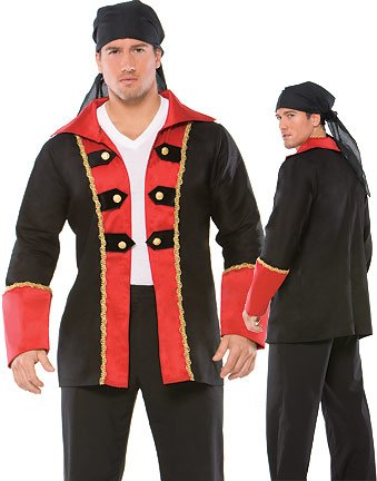 Coquette Men's Pirate Jacket Pirate Costumes For Men