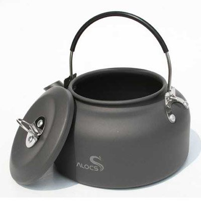 ALOCS CW-K02 Outdoor Portable 0.8L Teakettle Teapot Coffeepot Camping Cookware
