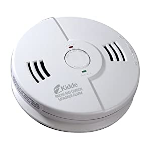 Combination Smoke Detector and Carbon Monoxide Detector