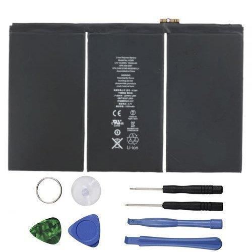 New 11560mAh Li-ion Interner Akku Ersatz für iPad 44. A1458, A1459, A1460mit gratis Repair Tools