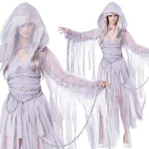 Lanlan Sexy Womens Corpse Ghost Bride Halloween Costume