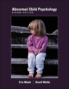 Abnormal Child Psychology (with ThomsonNOW  Printed Access Card)