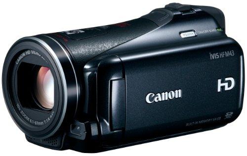 【Amazonの商品情報へ】Canon デジタルビデオカメラ iVIS HF M43 IVISHFM43 光学10倍 光学式手ブレ補正 内蔵メモリー64GB