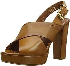 Dune Jaid, Sandales Femme - Marron (Tan Leather), 37 EU