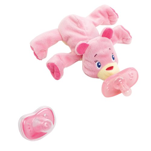 Bright Starts Cozy Coos Deluxe, Pink Cub - 1