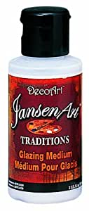 DecoArt Traditions Artist Acrylic Mediums/Specialty Products, 3-Ounce, Glazing