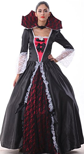 Generic Women's Vampiress Of Versailles Adult Full Length Ball Gown Costume