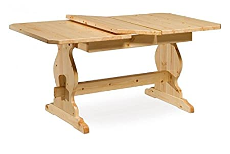 Table extensible de réfectoire 130 -Brut