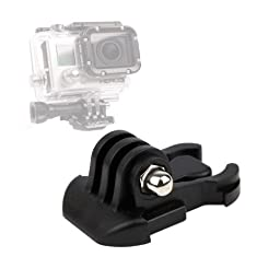 DURAGADGET Horizontal Surface Quick-Release Buckle Strap Mount For GoPro HD Hero 3, White Edition, Surf Edition & Sport Camera
