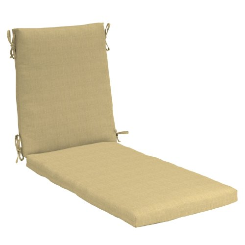 Strathwood Hardwood Chaise Lounge Chair Polyester Cushion Neutral Shopping