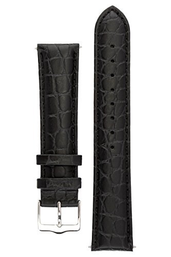 signature-siena-in-black-18-mm-watch-band-replacement-watch-strap-genuine-leather-silver-buckle