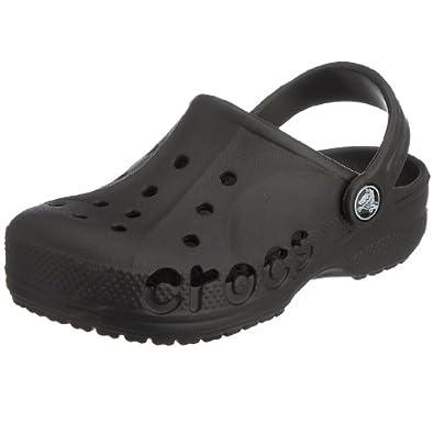 crocs Baya Kids, Unisex-Kinder Clogs, Schwarz (Black), EU 19-21 (UKC4-5)