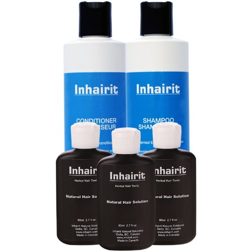Topical Herbal Hair Tonic, Shampoo and Conditioner,