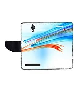 KolorEdge Printed Flip Cover For Asus Zenfone C Multicolor - (47KeMLogo11958ZenC)