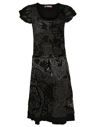 DESIGUAL Femme Designer Top Robe - MANGA -XL