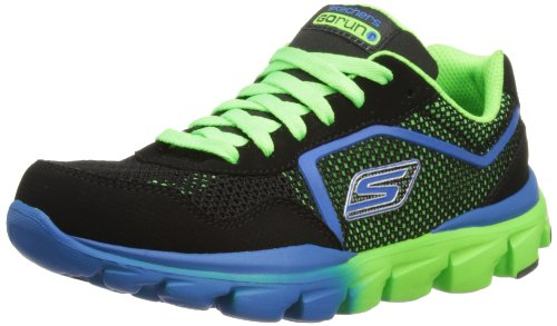 Skechers Boys Go Run Ride - Supreme Low-Top 95672L Black/Green 13.5 UK,33 EU
