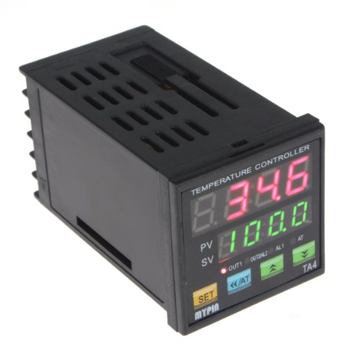 Origlam® Universal Digital Pid Temperature Controller Ssr Control Out, One Key Operation, Auto-Tuning Pid / Fuzzy Pid Control, 7 Different Dual Output Combinations, Individually Programmable Pid Control Parameters, Apply With Step Control, Dual Display Fo