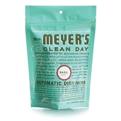 Mrs. Meyer's Clean Day Dishwasher Detergent Soap Packs (Meyers Dishwasher Packs compare prices)