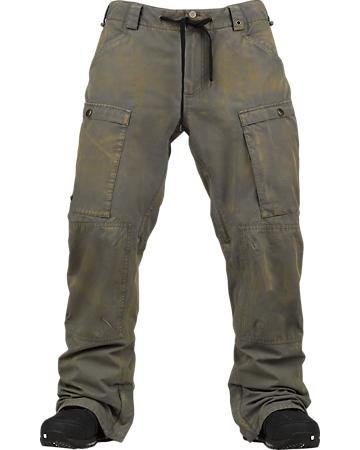 Burton Restricted Wiggle Wagon Pant - Color:Washed Canteen - Talla:L - 2014