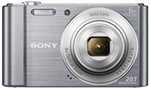 Sony Cybershot DSC W810/SC 20.1MP Digital Camera  Silver  available at Amazon for Rs.6399