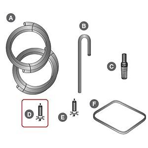 Cascade 700 & 1000 Canister Filter Parts - D. IMPELLER FOR CASCADE 1200