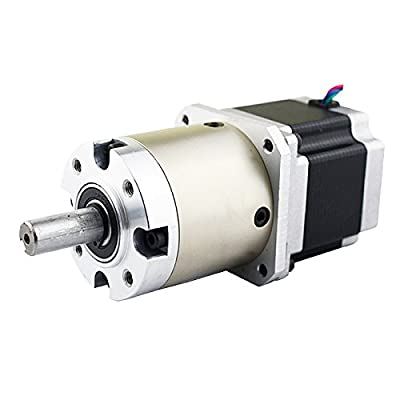 15:1 Planetary Gearbox Nema 23 Stepper Motor 2.8A for DIY CNC Mill Lathe Router