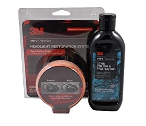 3M Head Lamp Restorer (39008) and Lens Polish (39010) from 3M