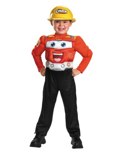 Chuck Classic Muscle Toddler Costume 1-2 - Toddler Halloween Costume
