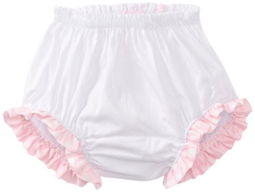 Mud Pie Baby Birthday Pink And White Decorated Cotton Bloomers, Cupcake, 0 -6 Months front-551094