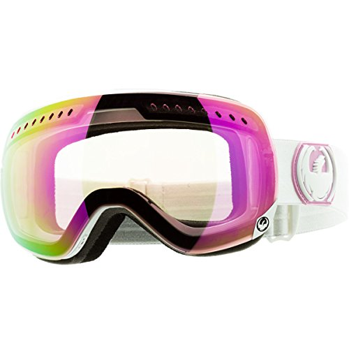 Dragon Alliance APXs Goggles (White, Pink Ion/Yellow Blue Ion)