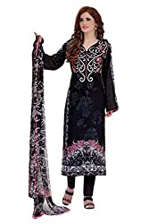 Lebaas Black and Pink Pure Cotton With Embroidery(With Discount and Sale Offer)