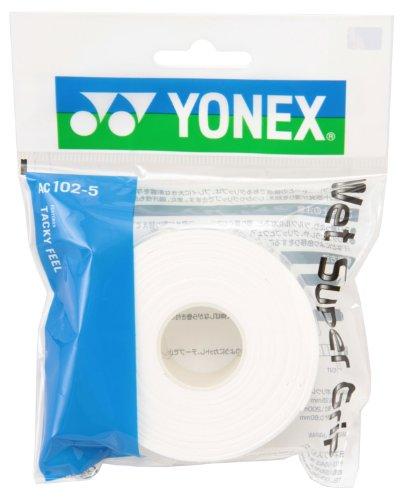 Yonex (YONEX) wet Super grip for a refill (5 pieces) white AC1025 011