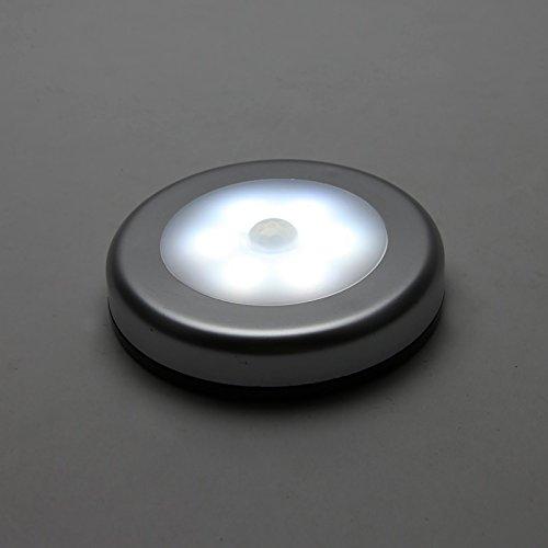 ottff brightest 6w led under cabinet lighting puck lights. Black Bedroom Furniture Sets. Home Design Ideas
