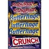 Nestle Chocolate Bars 30- 12 Butterfinger, 6 Crunch, 8 BabyRuth, 4 100Grand