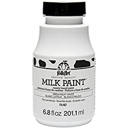 FolkArt Milk Paint in Assorted Colors (6.8 Ounce), 38904 Milky White
