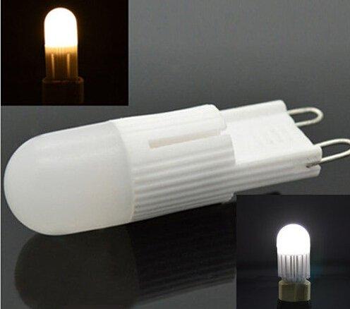 Hossen G9 Dimmable 3W 300Lm Smd Led Pure Lights Ceramic Bulb Light 110V