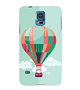 GADGET LOOKS PRINTED BACK COVER FOR SAMSUNG GALAXY S5 MULTICOLOR